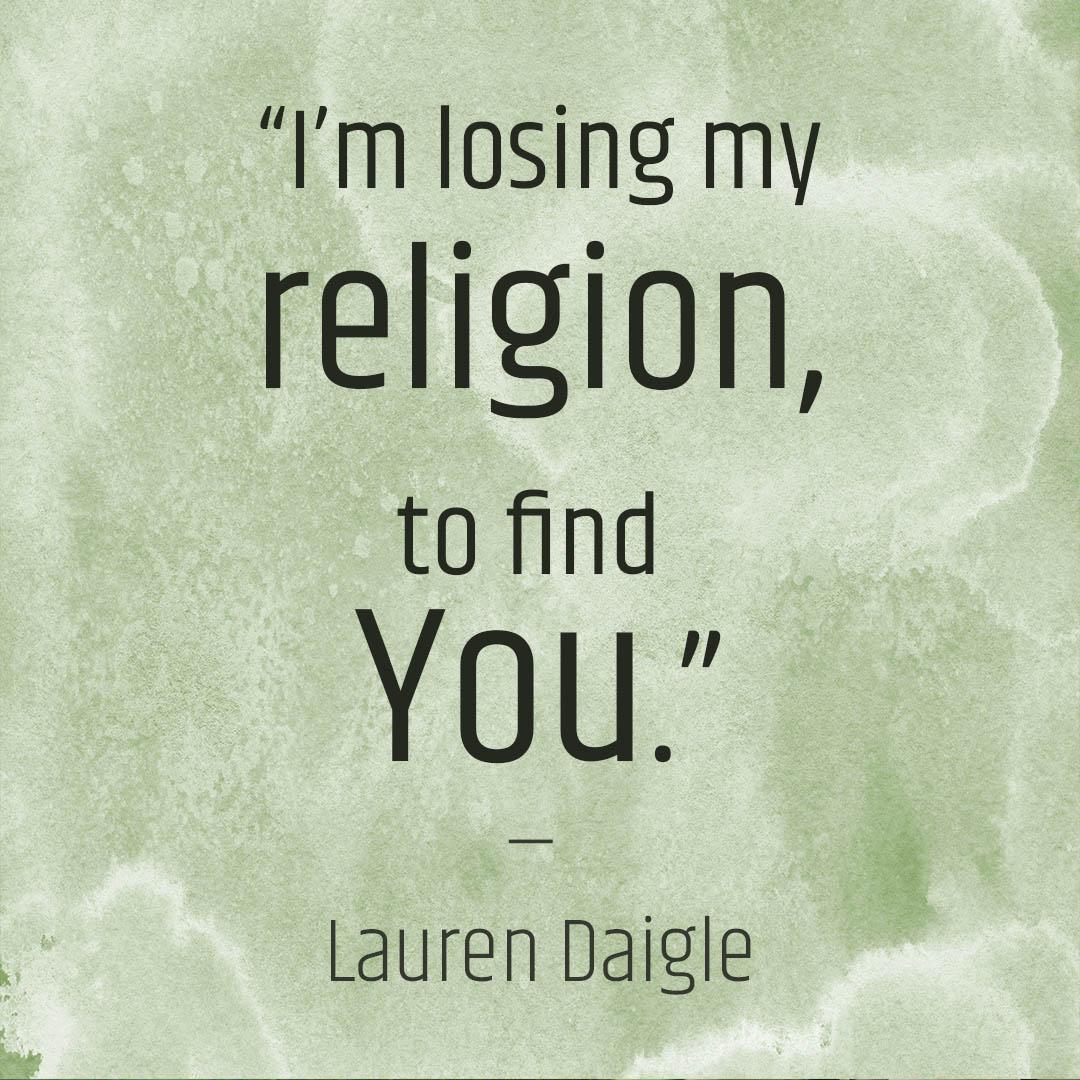 Veranderen van patronen in religie