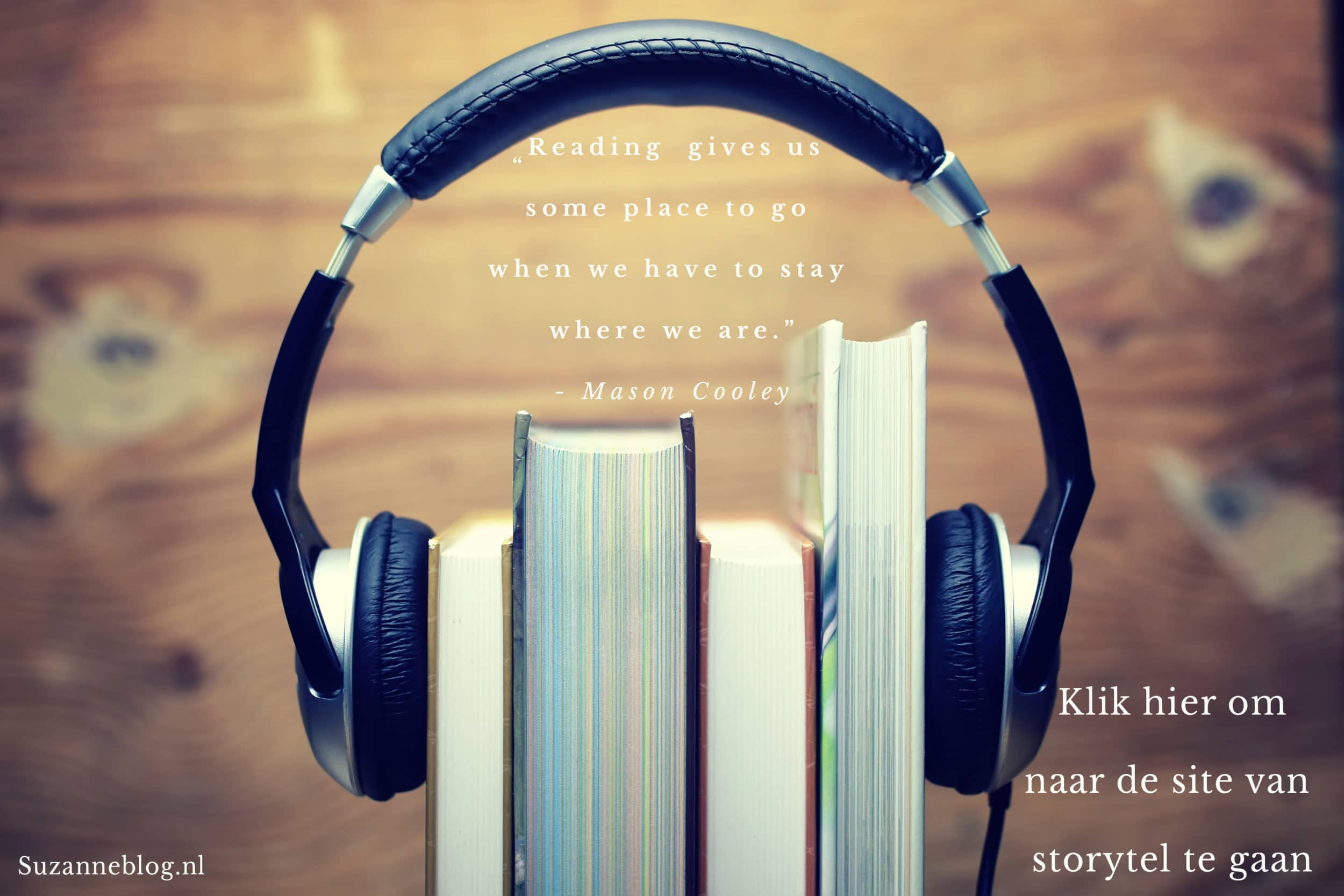 Storytel: Luisteren naar boeken is de grootste ontspanning
