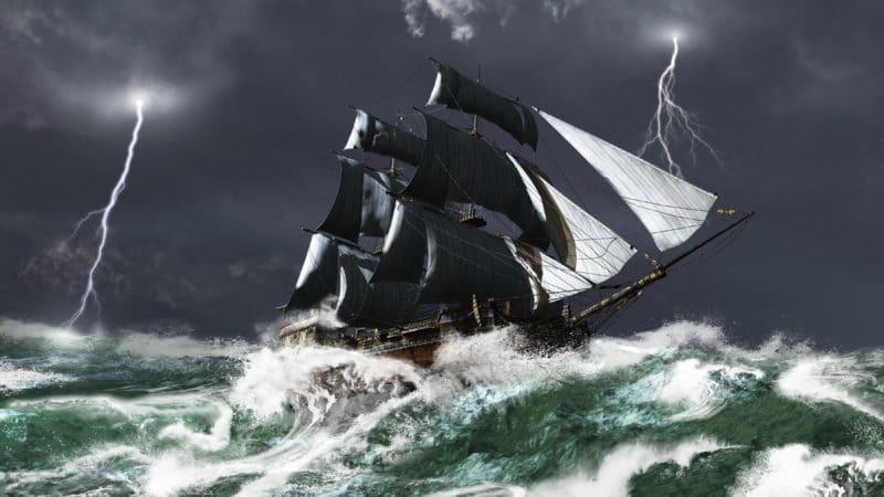 Paniekaanval als een schip in de storm