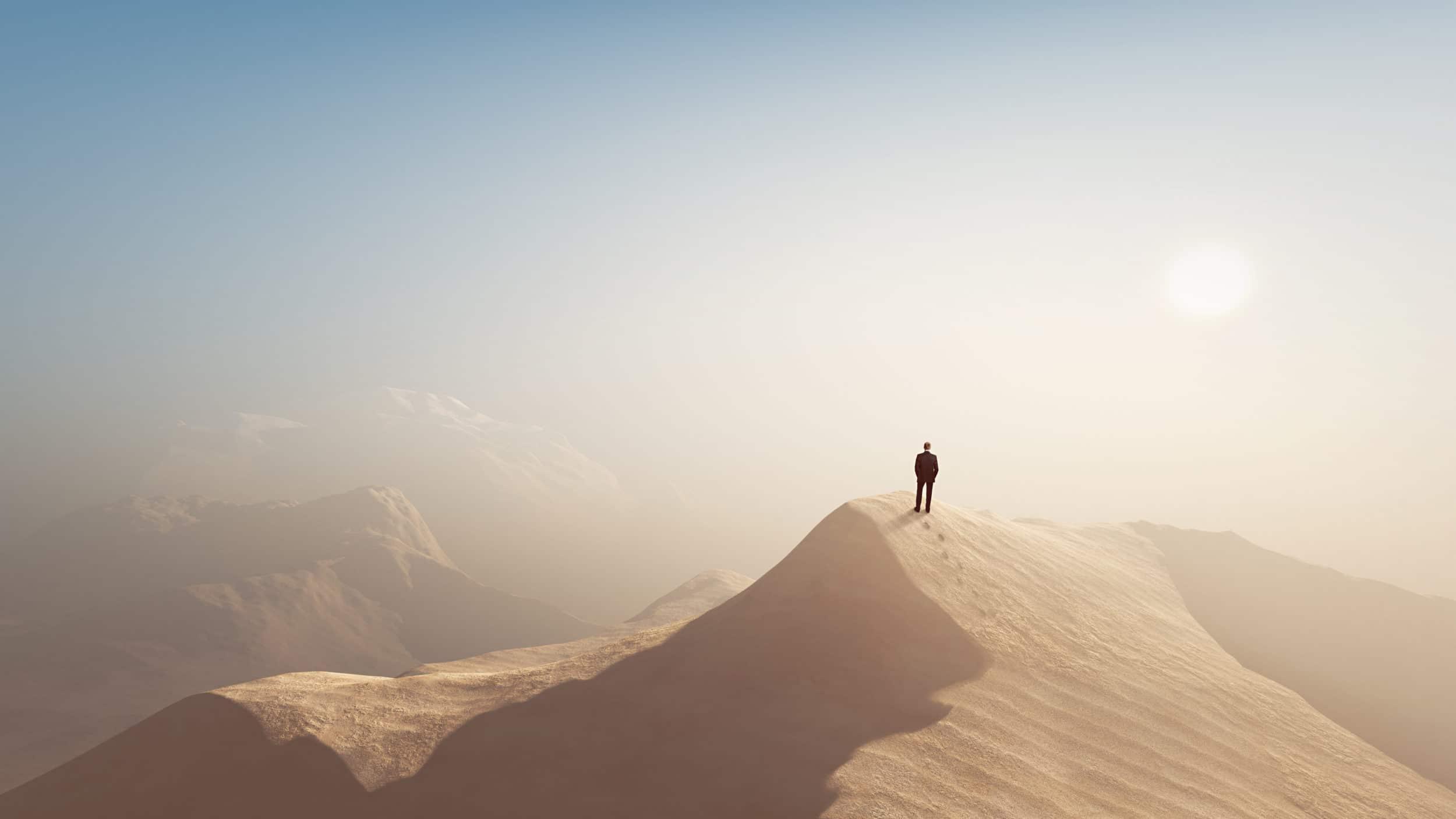 Eenzaam, achtergelaten, uitzichtloos. Wat kan God daar ooit mee van plan zijn? Hosea 2